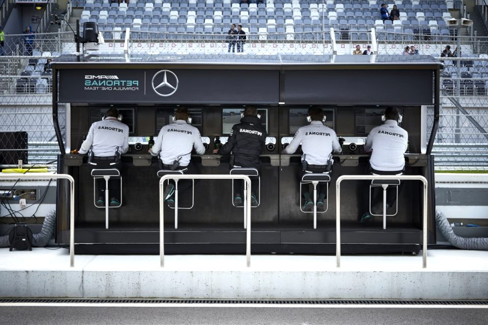 mercedes f1 factory tour 2020 Redesign