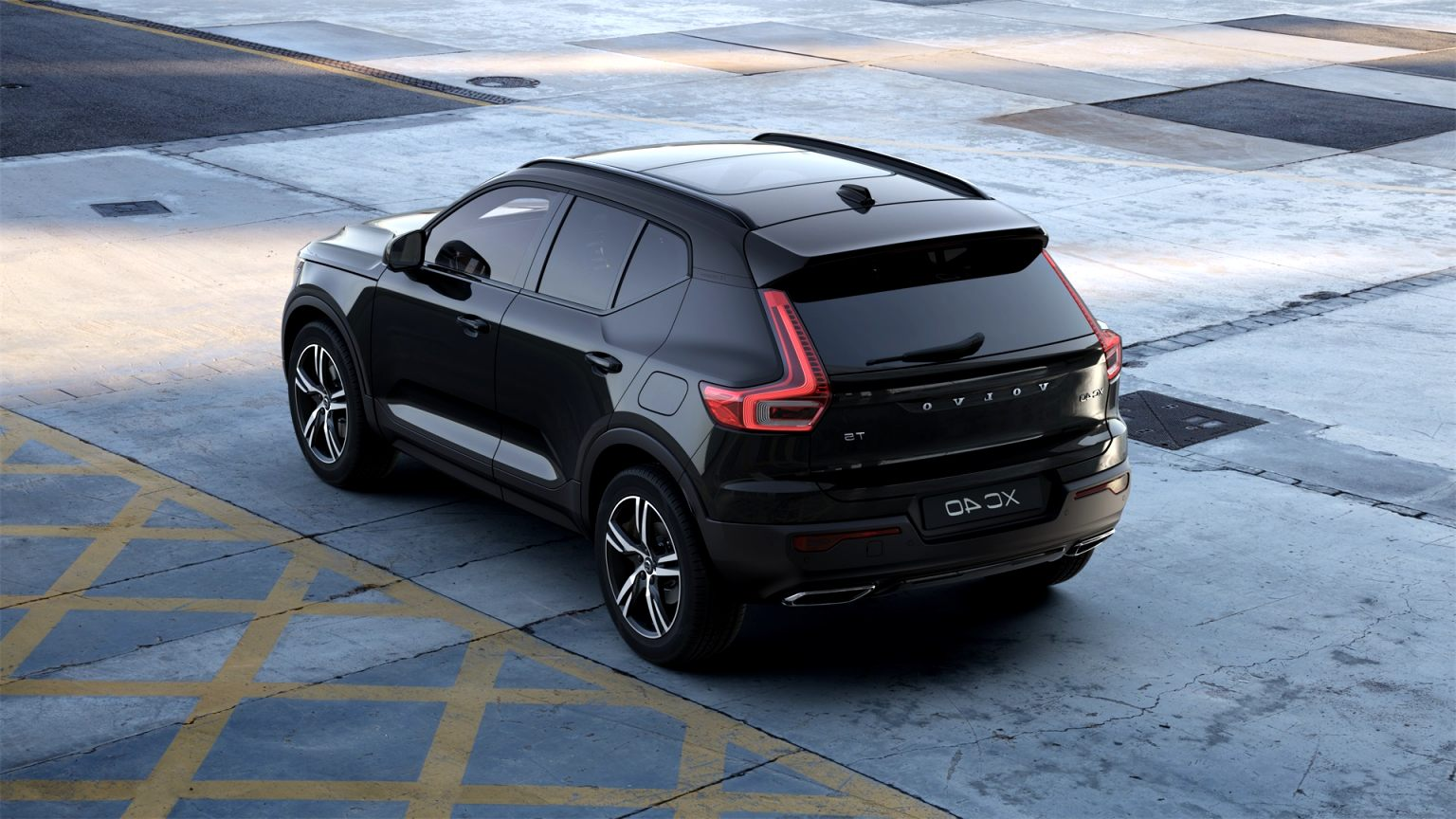 2020 black volvo xc40 Wallpaper