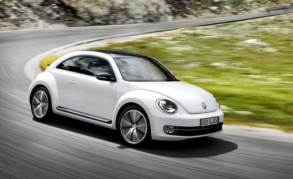 2020 white volkswagen beetle  Redesign and Review