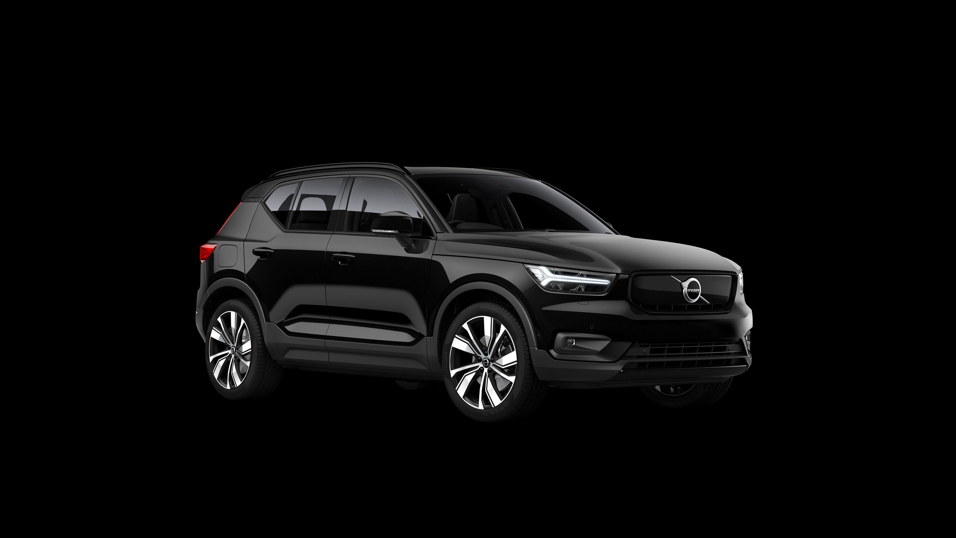 2020 black volvo xc40 Performance and New Engine