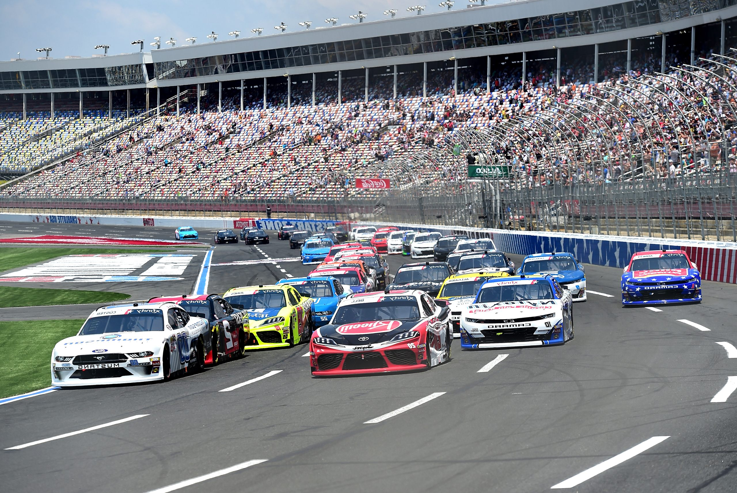 nascar xfinity schedule 2020 Images