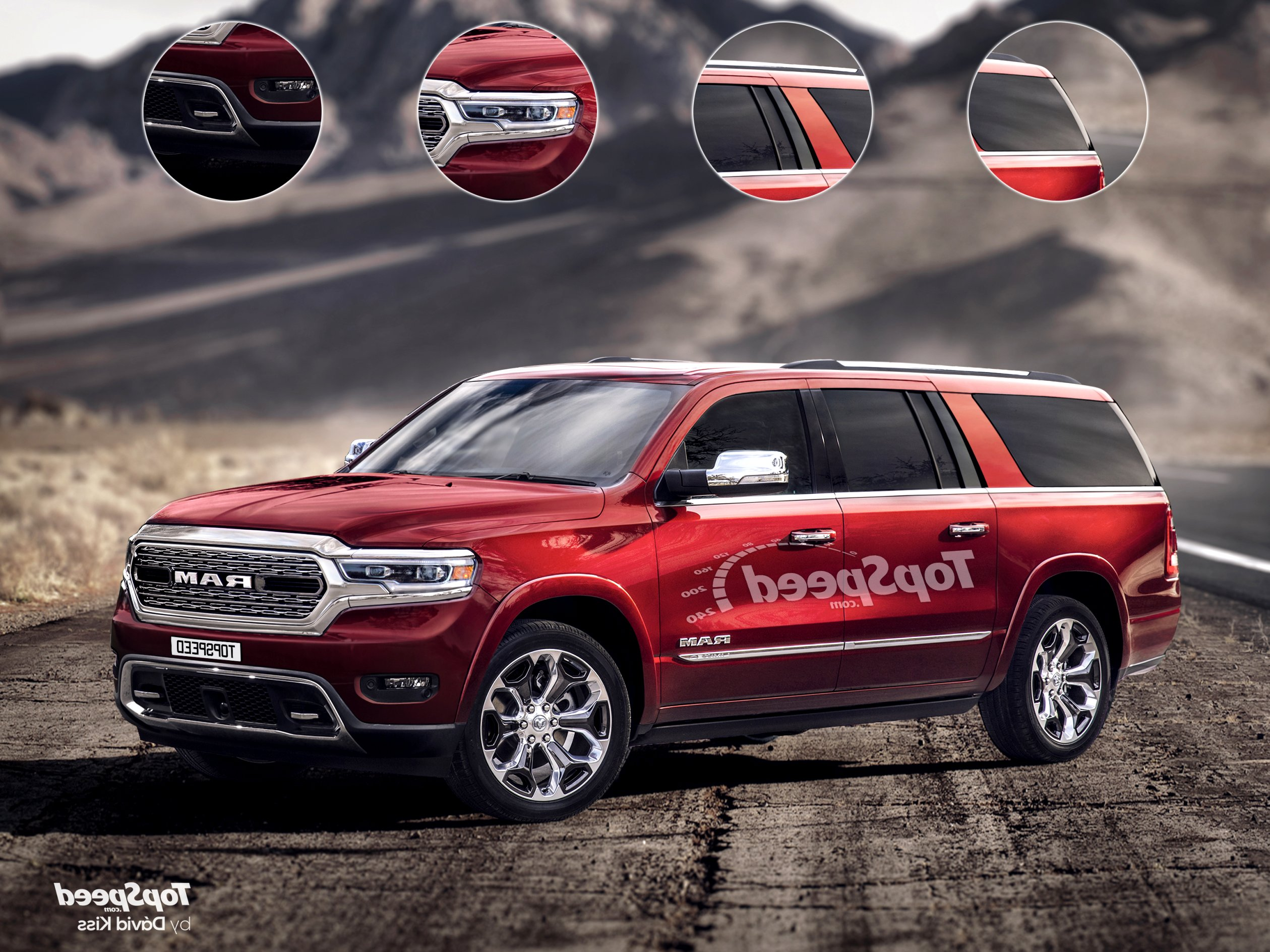 2020 dodge full size SUV Exterior and Interior