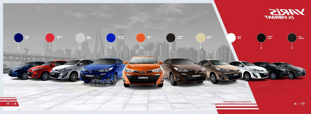 2020 toyota brochure First Drive