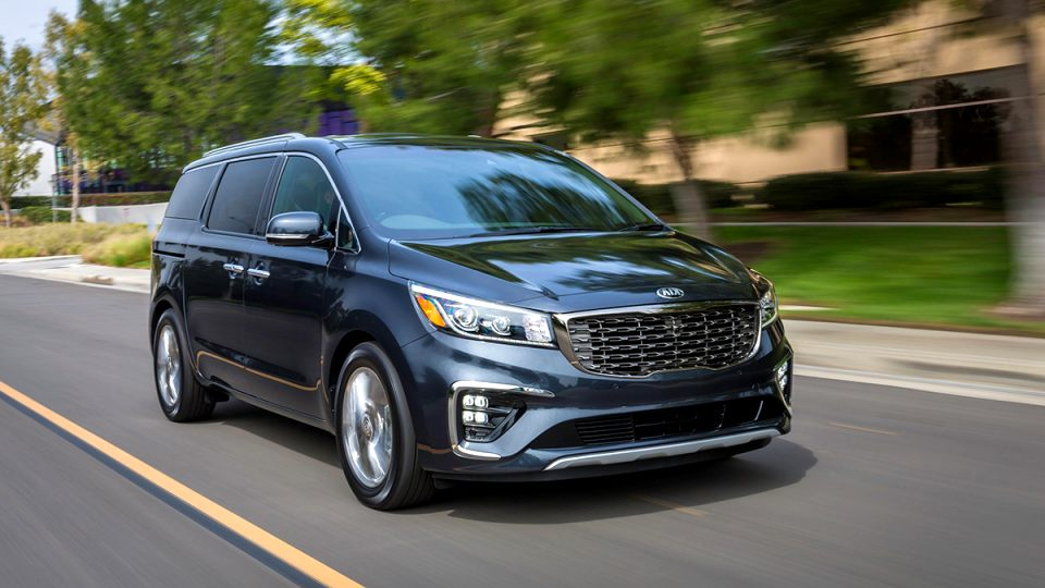 kia a sedona 2020 Spy Shoot
