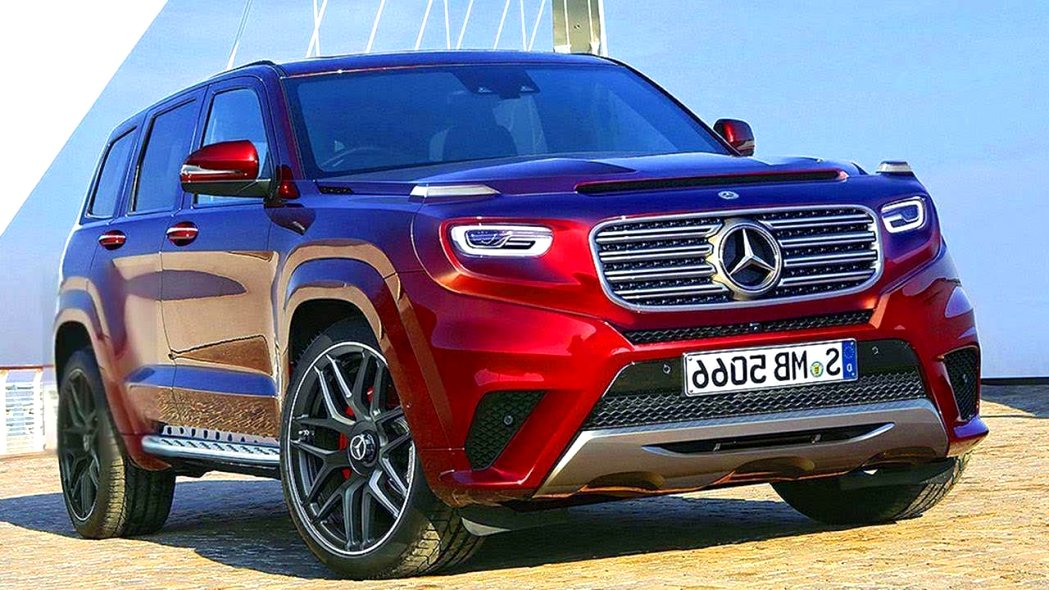 mercedes diesel SUV 2020 Spy Shoot