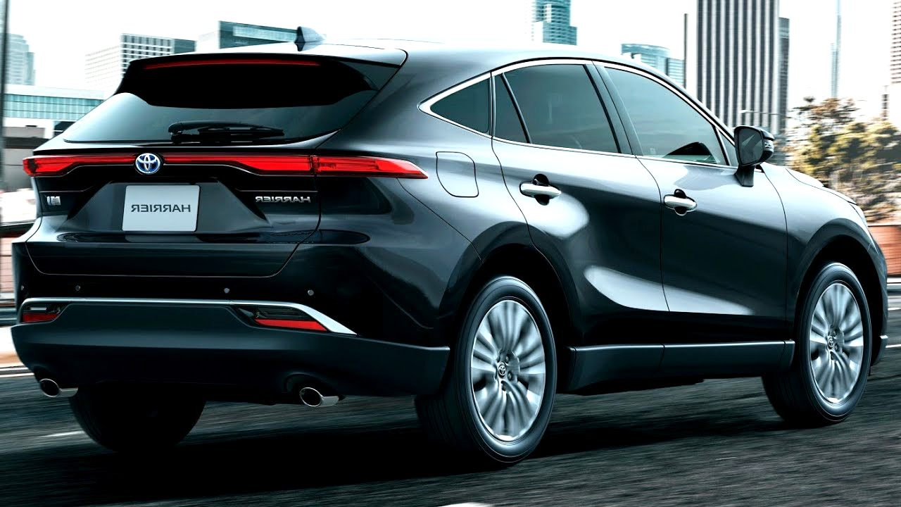 2020 toyota harrier Picture