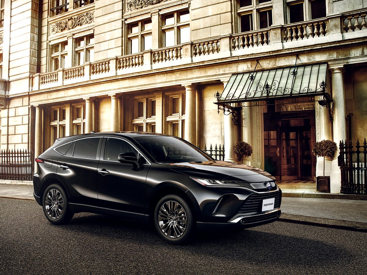 2020 toyota harrier Overview
