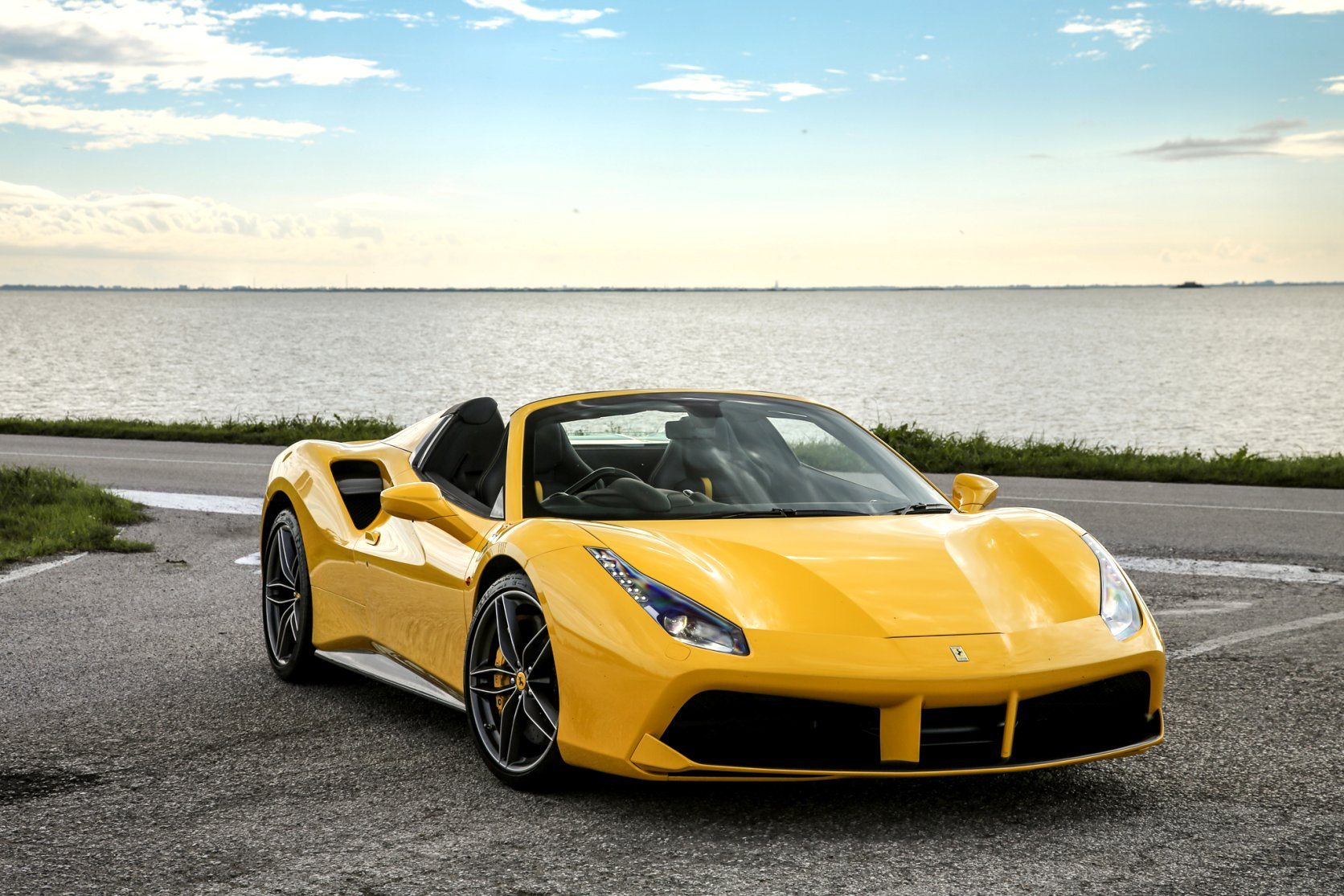 yellow ferrari 2020 price Concept and Review