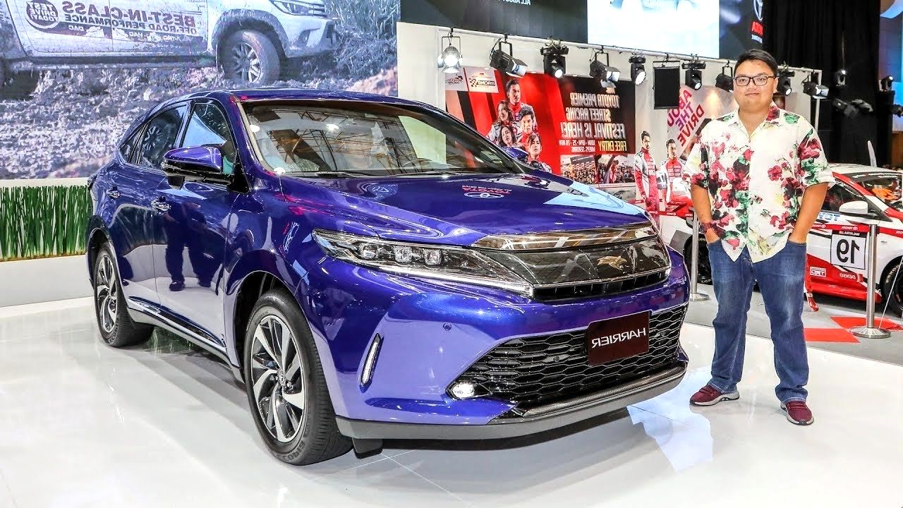 2020 toyota harrier New Concept
