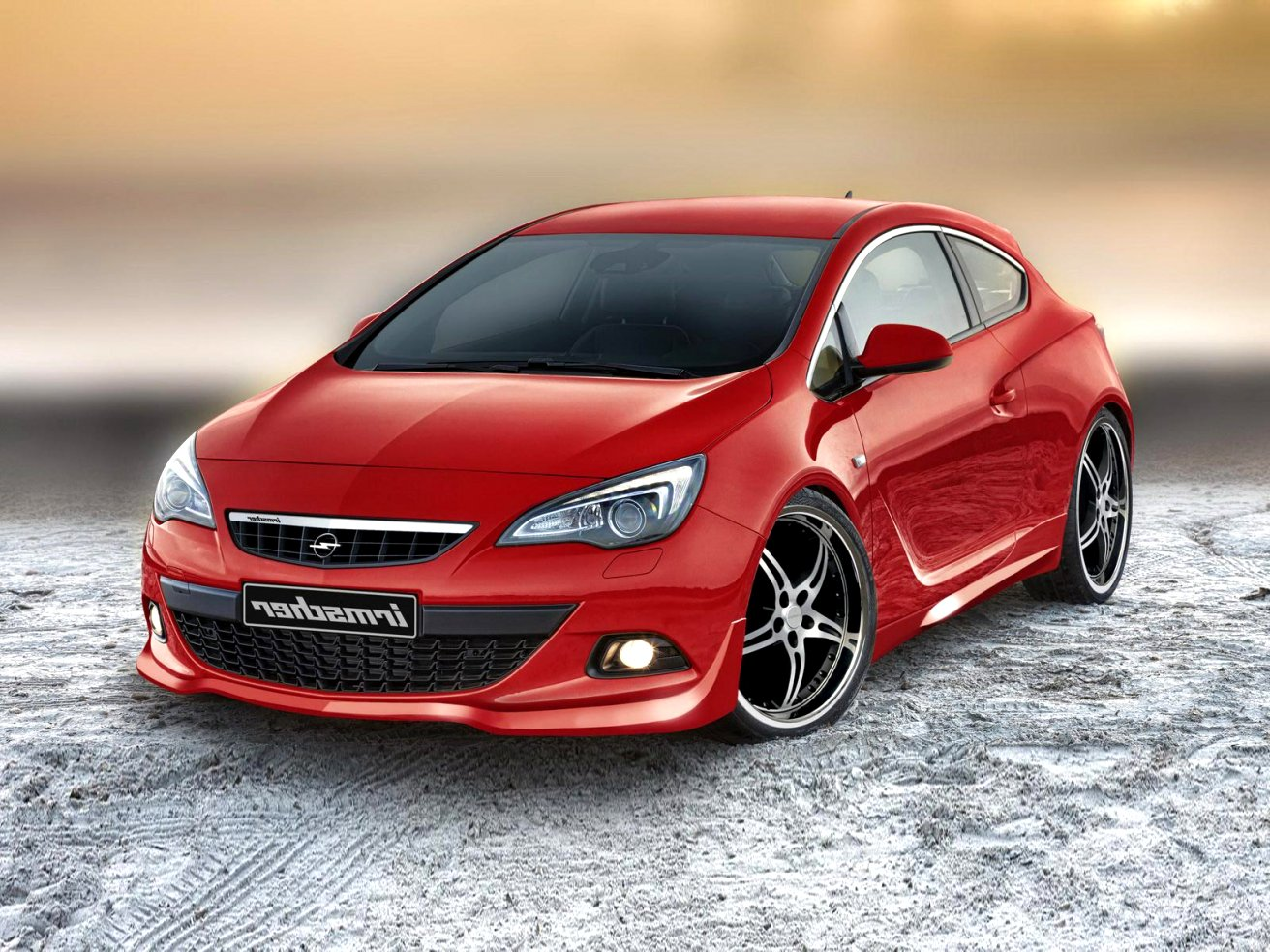 2020 opel astra gtc Performance