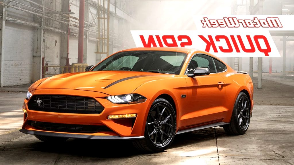 ford mustang ecoboost 2020 First Drive