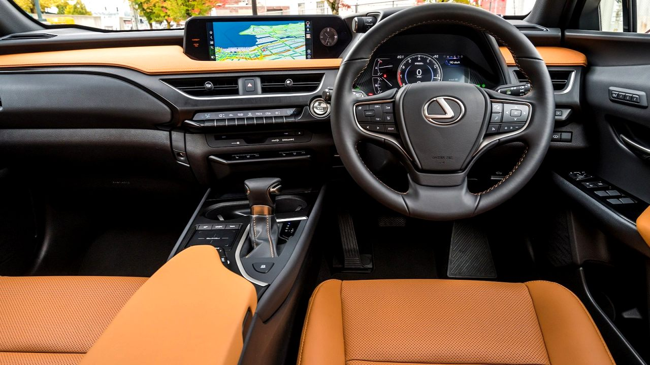 lexus ux 2020 interior Concept and Review