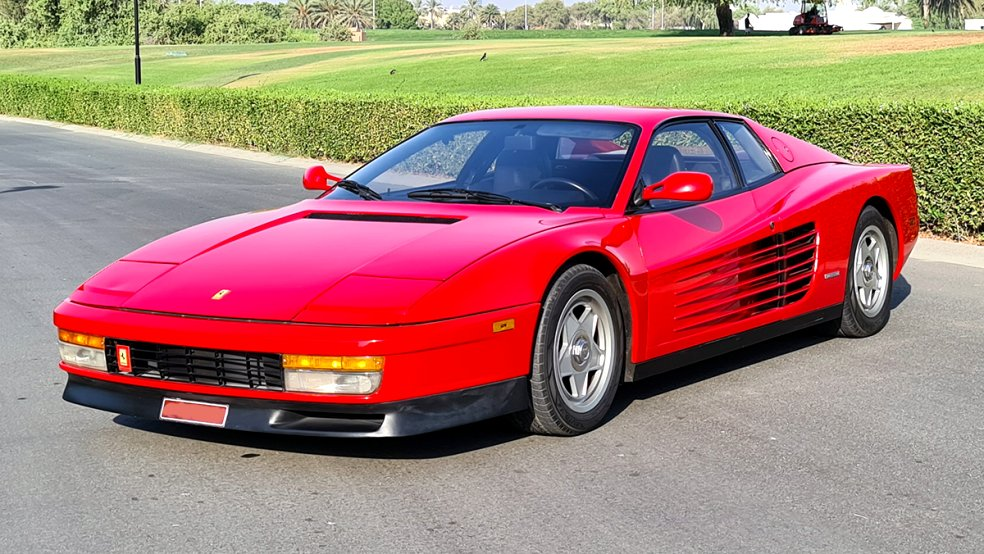 2020 ferrari testarossa Exterior and Interior