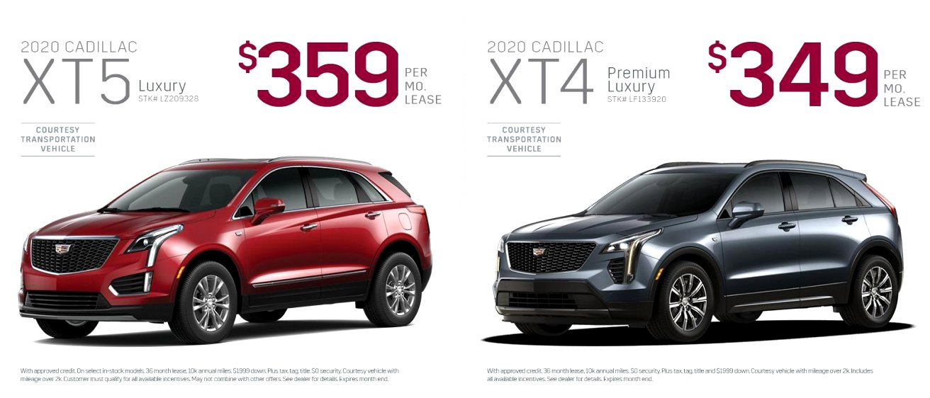 2020 cadillac incentives Price and Release date