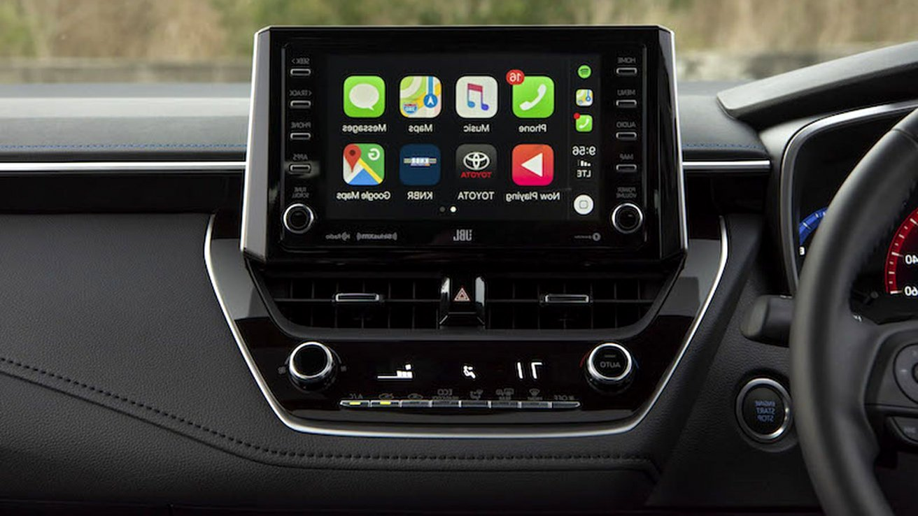 2020 toyota navigation Overview