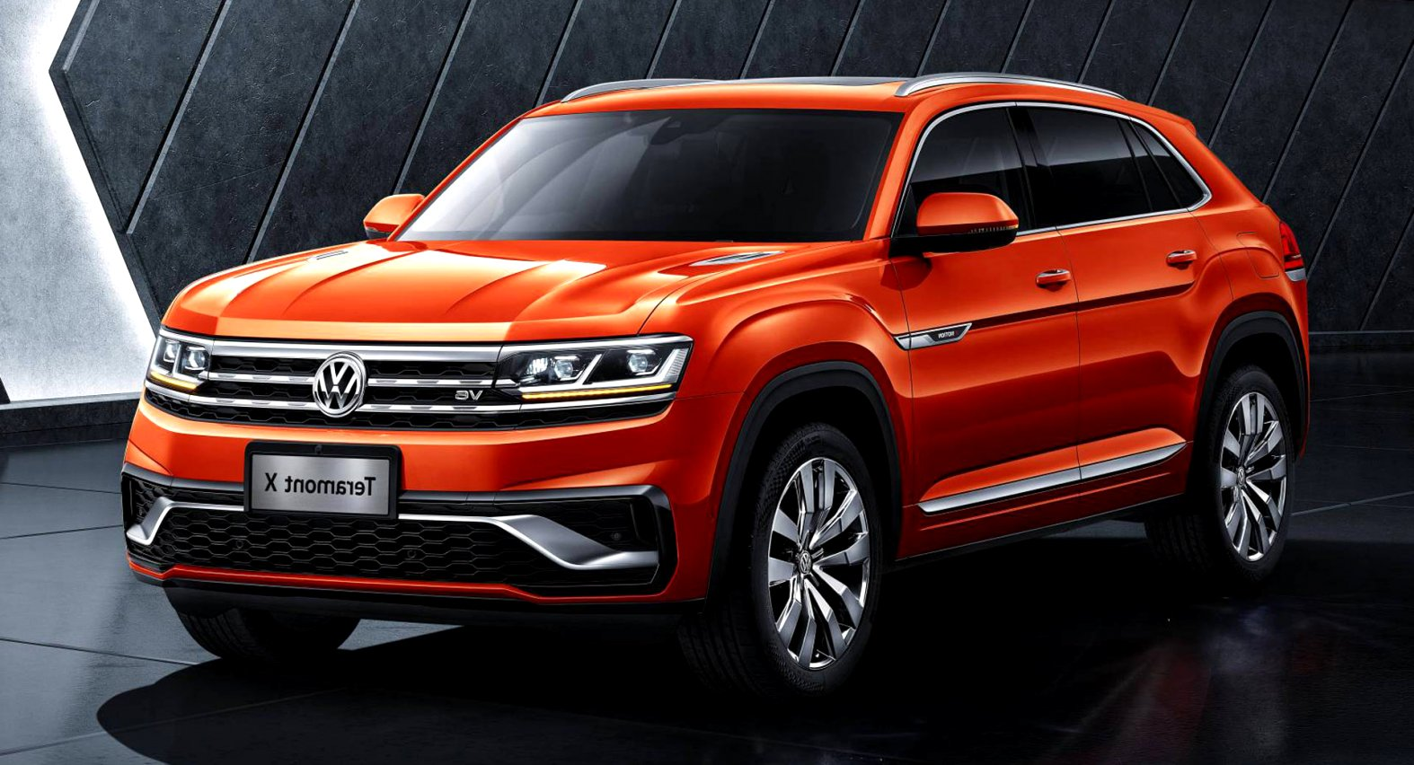 2020 volkswagen large SUV Review