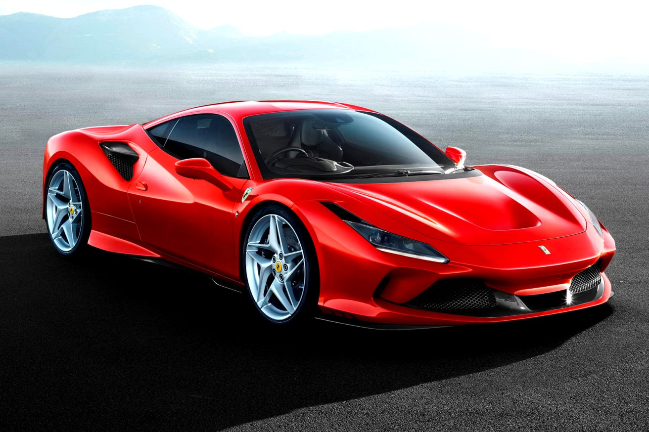 2020 ferrari new Spy Shoot