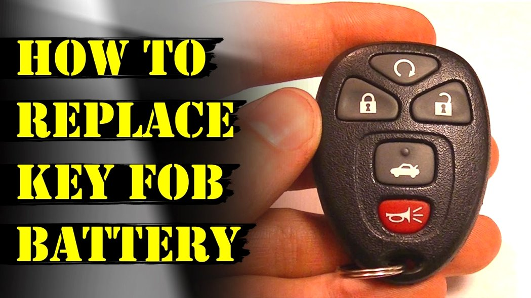 2020 GMC key fob battery replacement Spy Shoot
