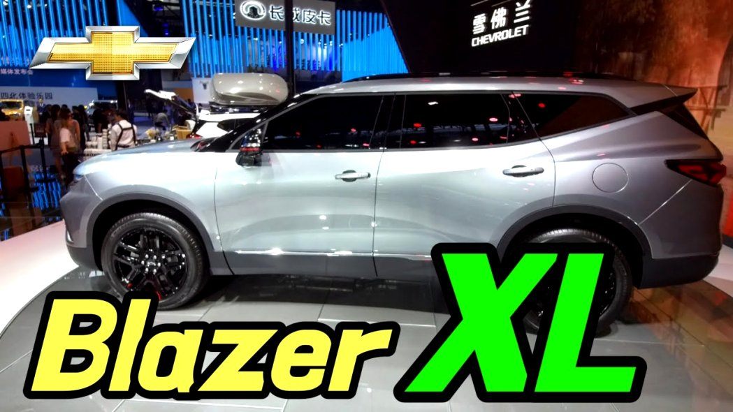 2020 chevrolet blazer xl Price and Review