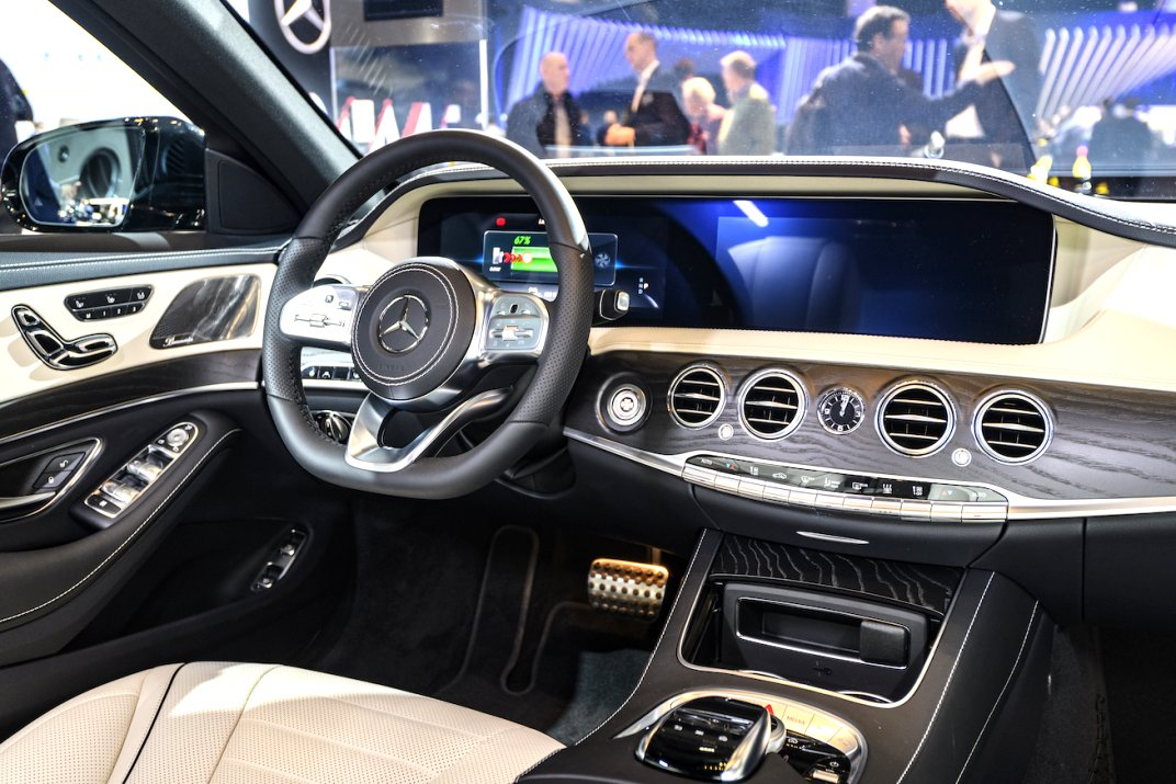 2020 mercedes a class interior Pictures