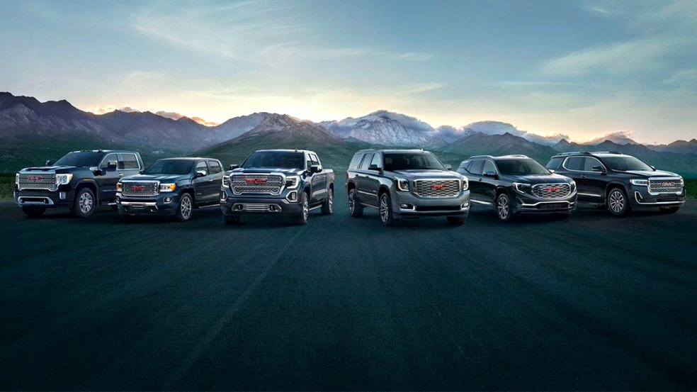 2020 GMC lineup Release Date