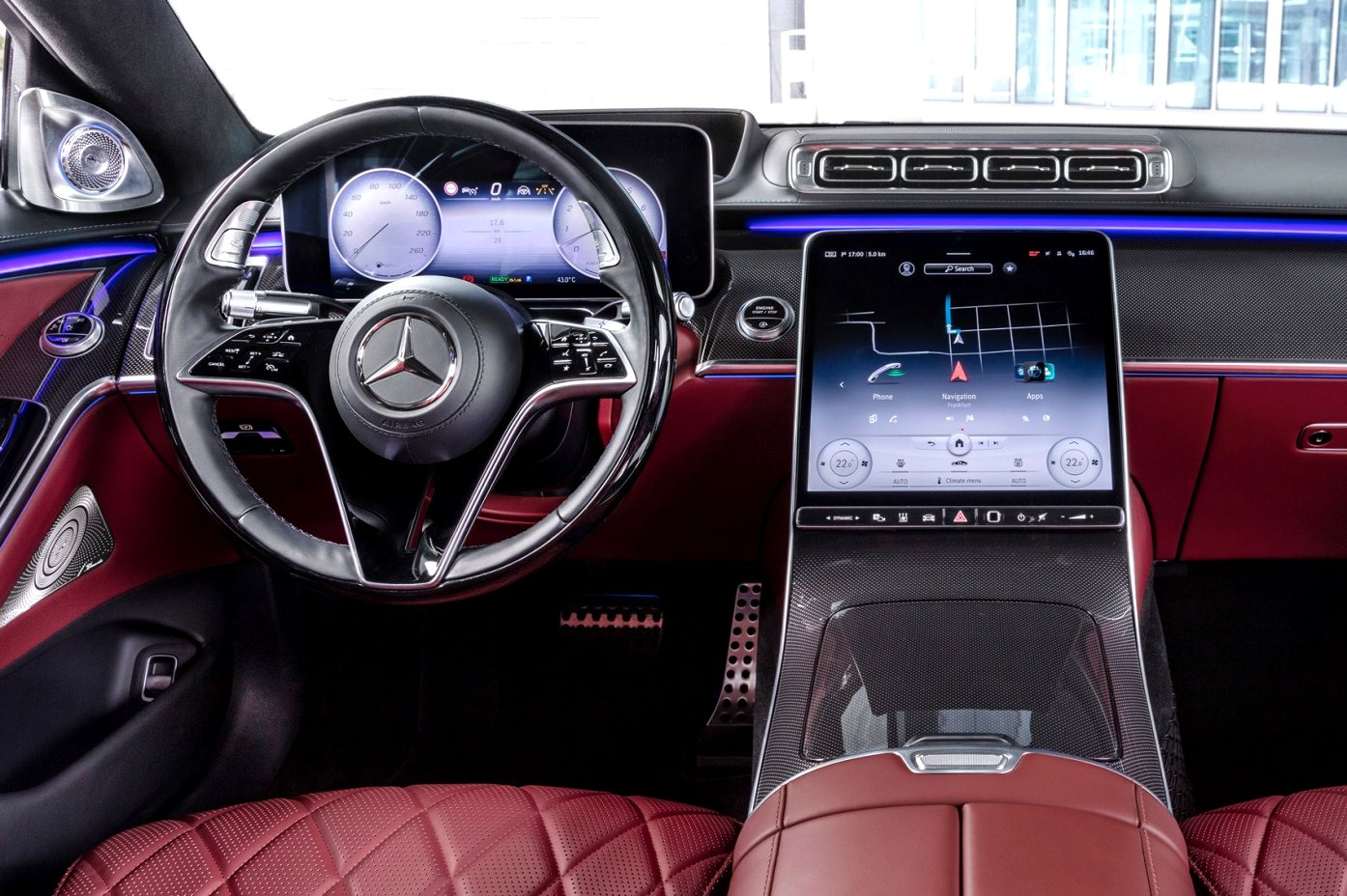 2020 mercedes a class interior Wallpaper