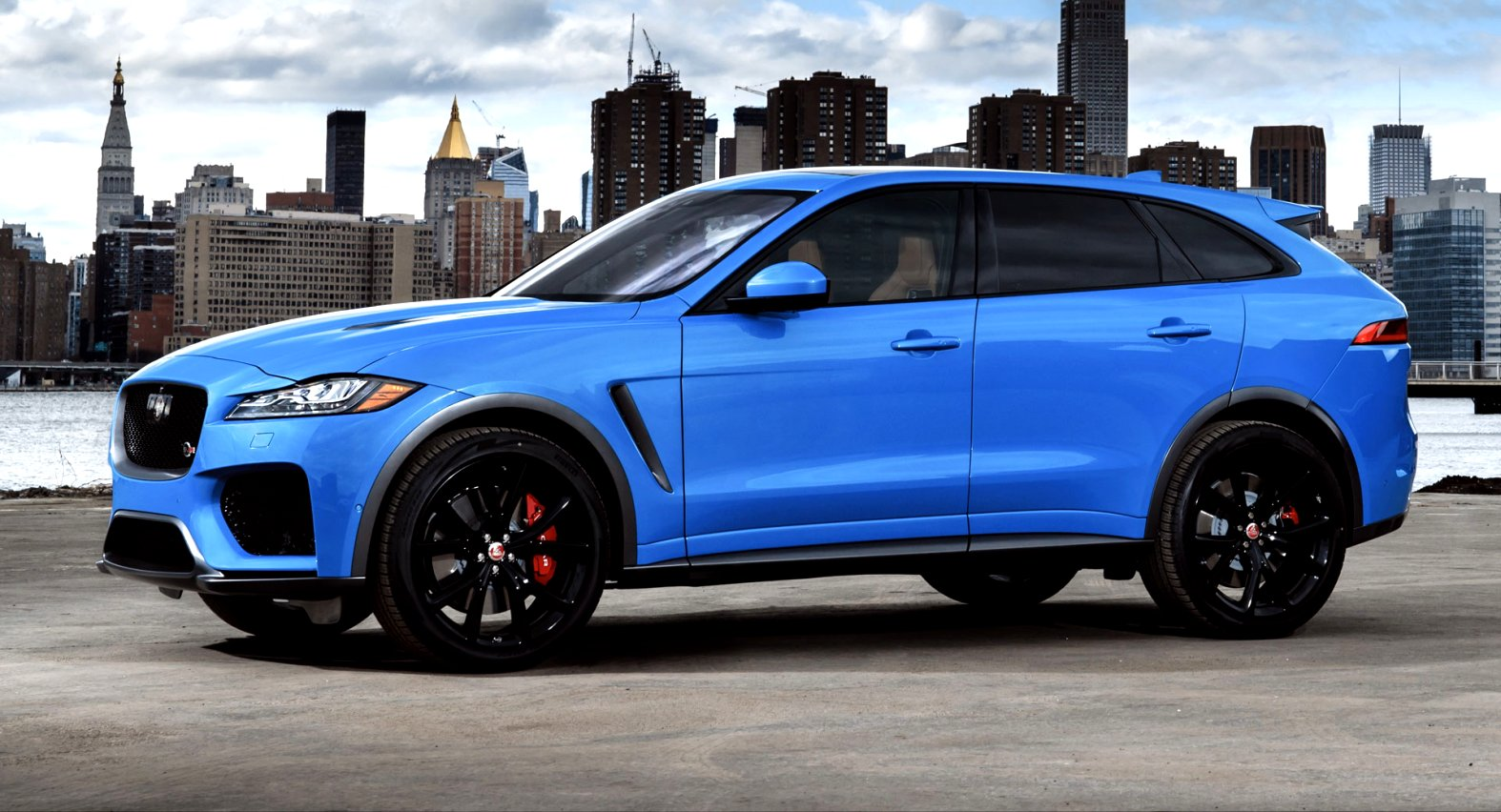 2020 jaguar suv v8 exterior and