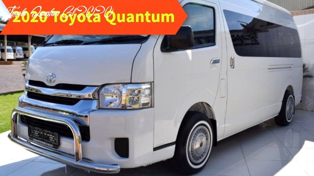 2020 toyota quantum price Specs and Review
