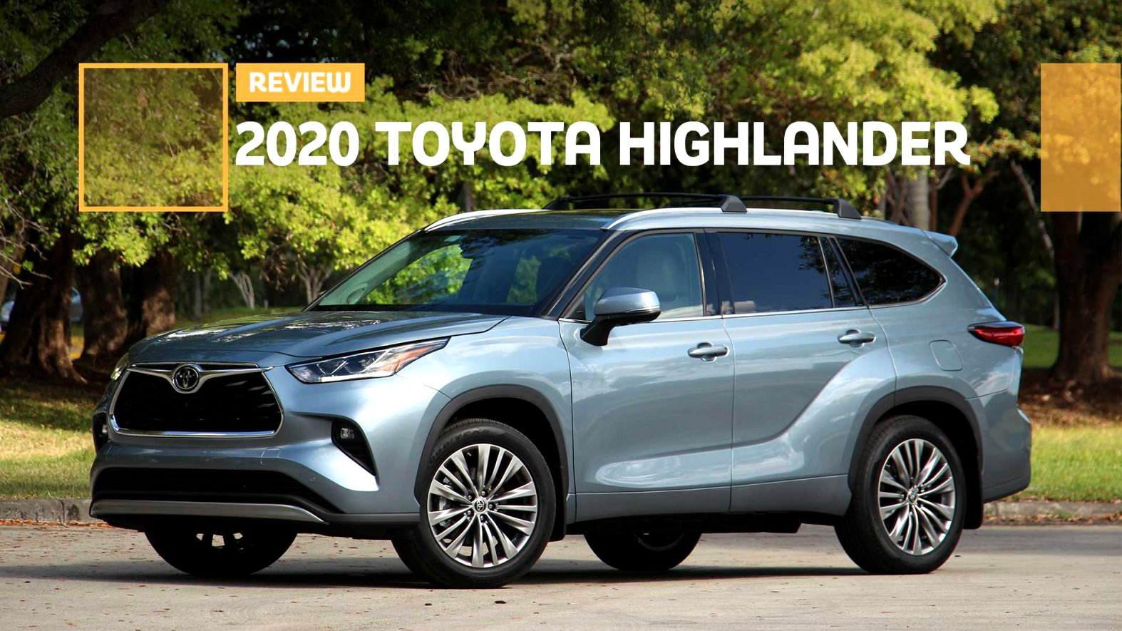 2020 toyota highlander review Review