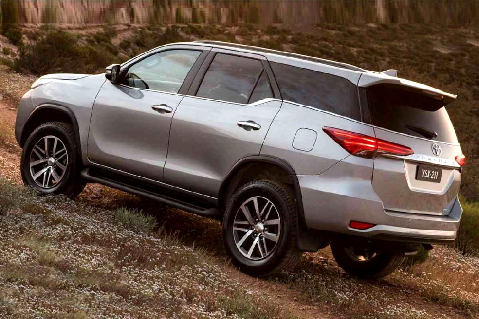 toyota new fortuner 2020 Images