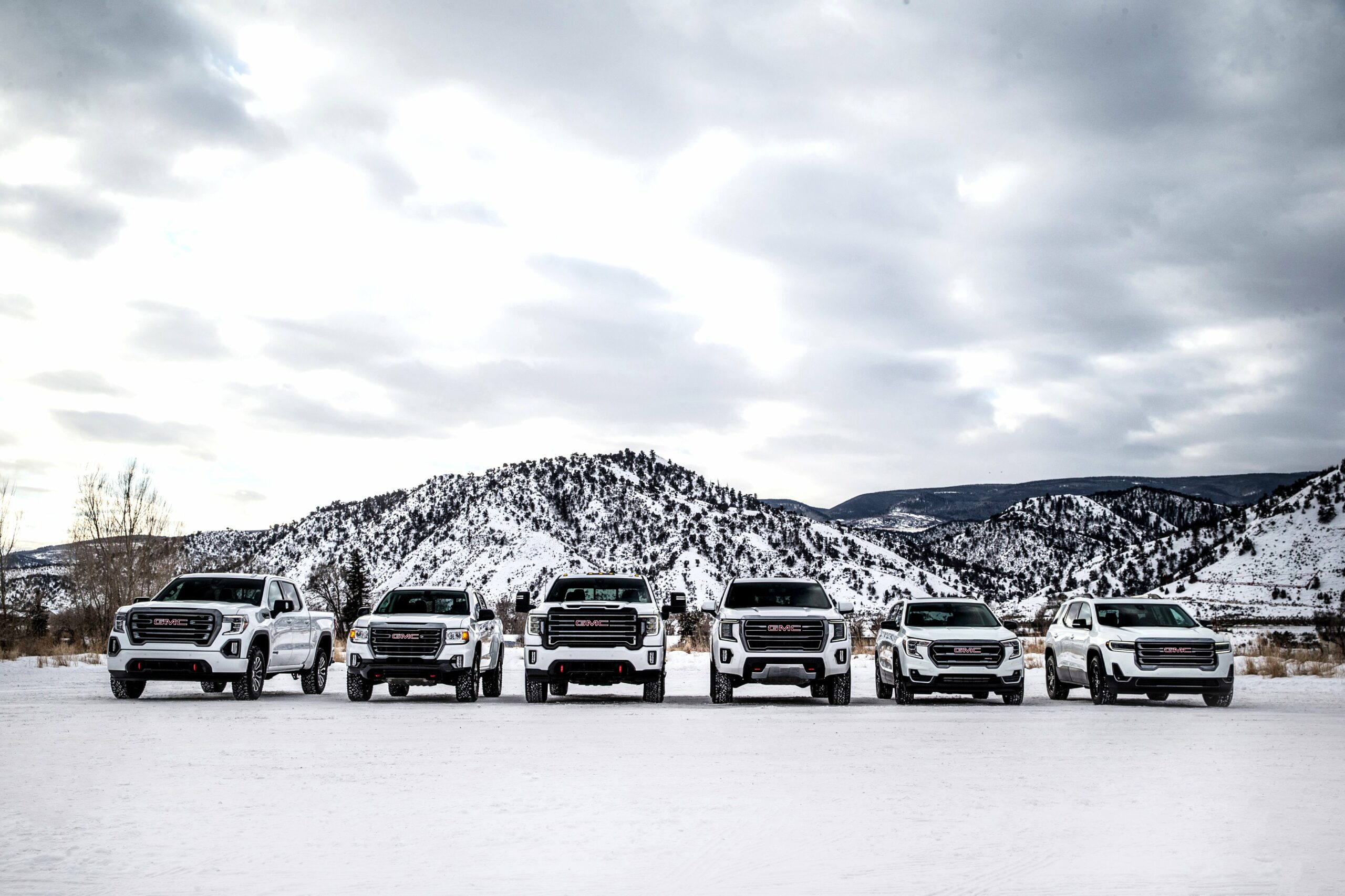2020 GMC lineup Pictures