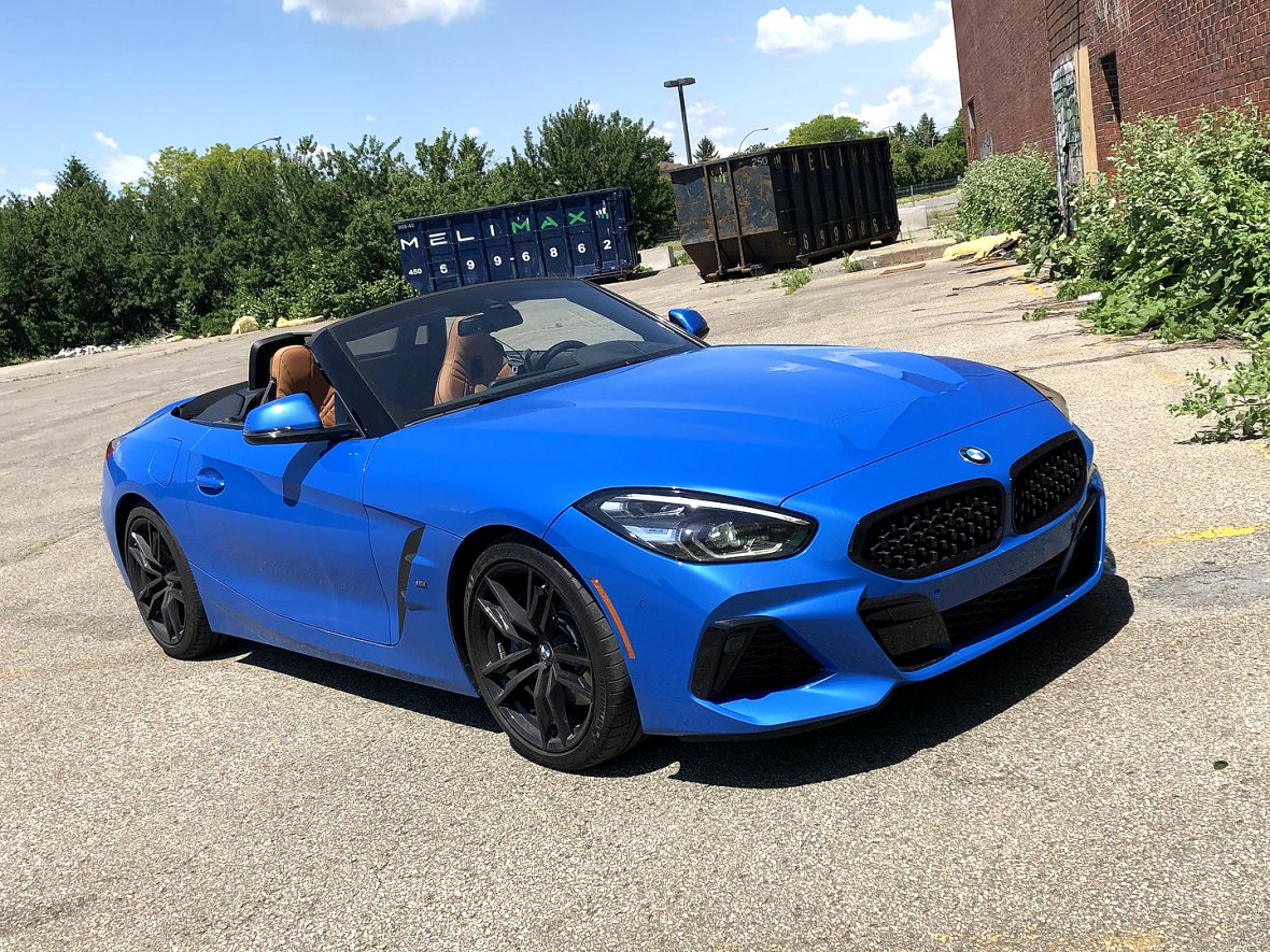 2020 bmw z4 review first