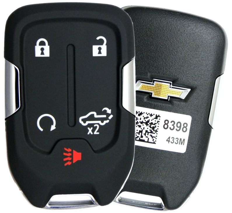 2020 GMC key fob battery replacement Images