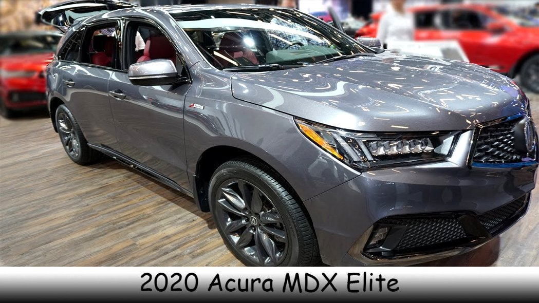 2020 acura mdx youtube Overview
