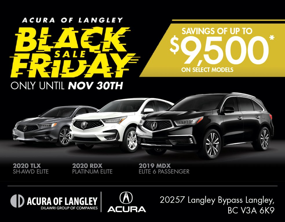 acura black friday deals 2020 Price, Design and Review