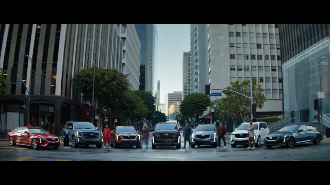 cadillac commercial song july 2020 Spy Shoot