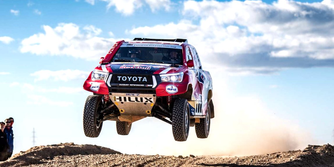 2020 toyota dakar Speed Test