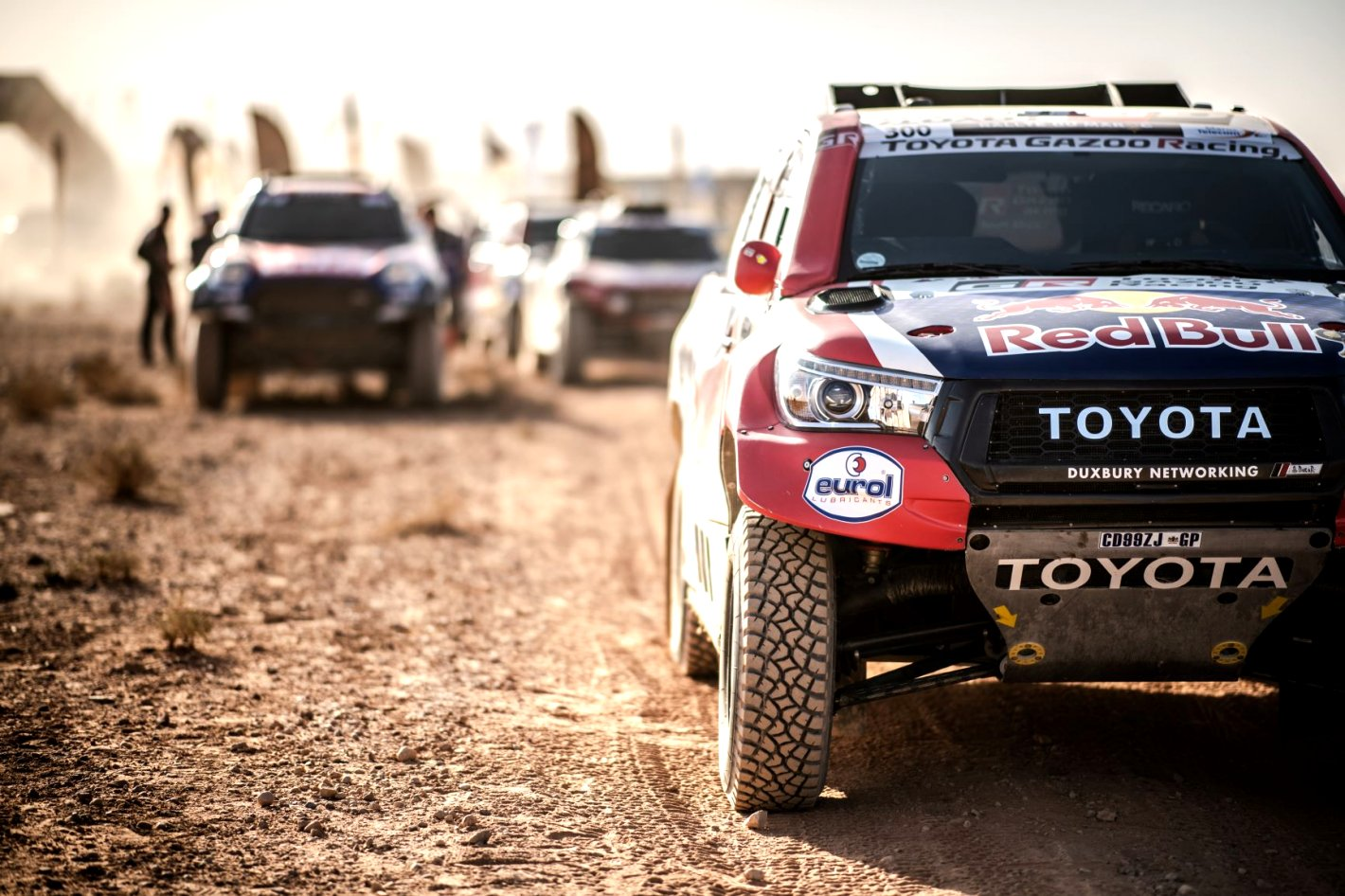 2020 toyota dakar Spy Shoot