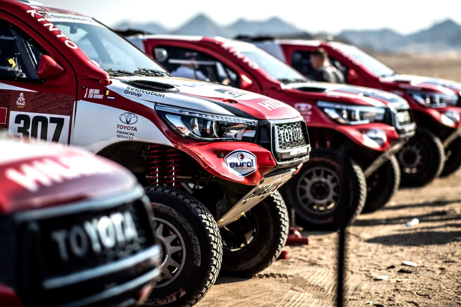 2020 toyota dakar New Review