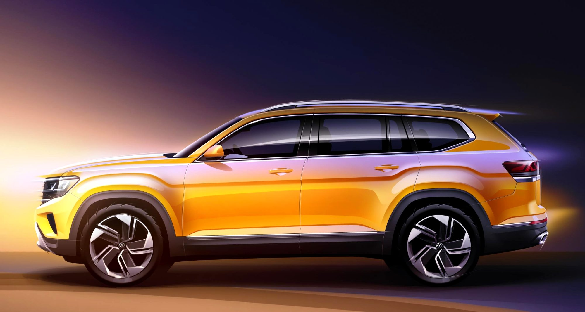 2021 volkswagen full size SUV Price, Design and Review