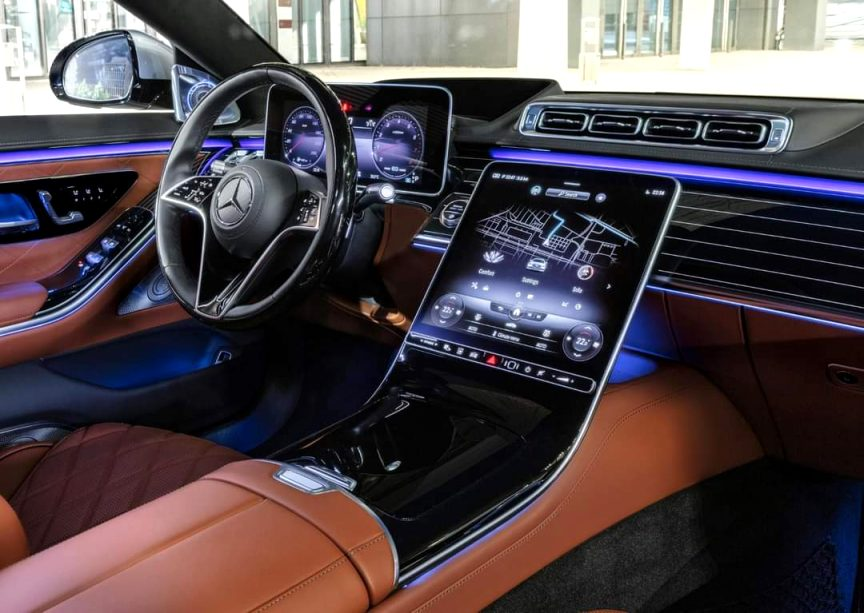 2021 mercedes infotainment Price and Review