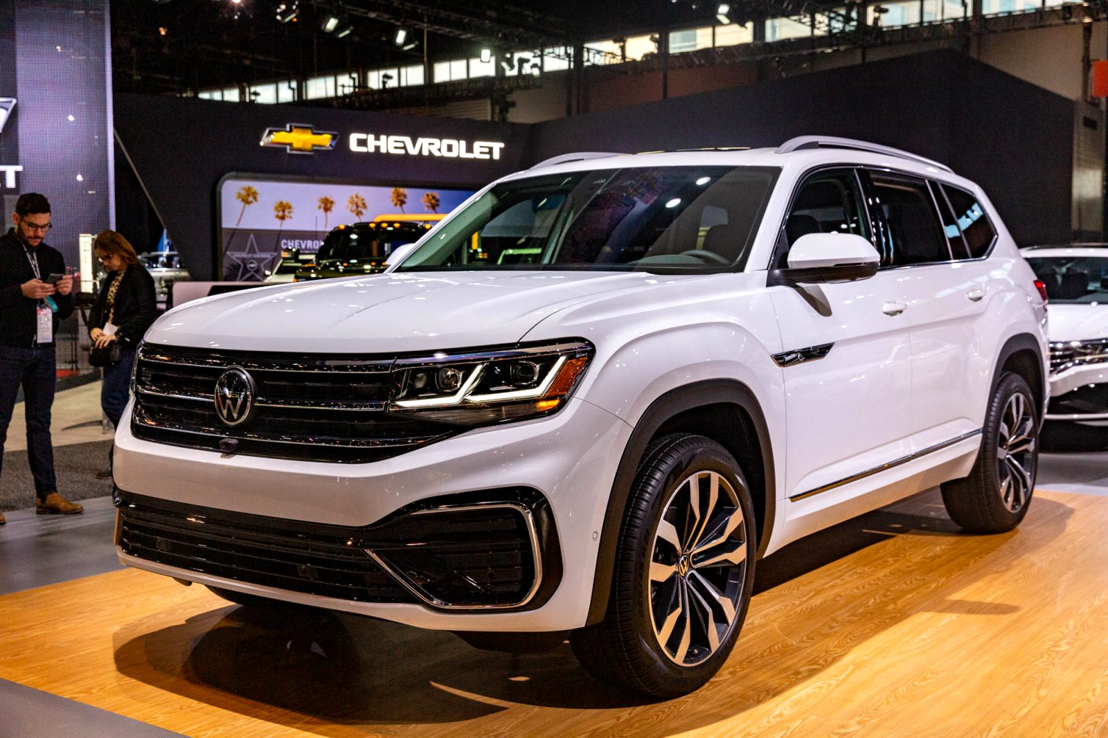 2021 volkswagen full size SUV Performance