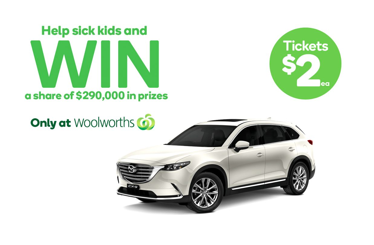 woolworths mazda raffle 2021 Release Date and Concept
