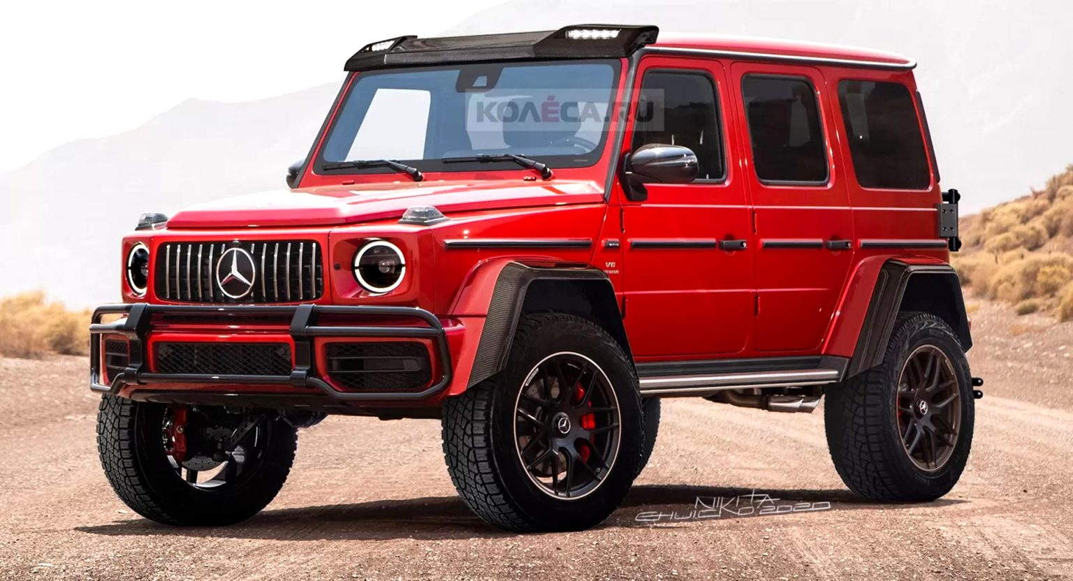 mercedes jeep 2021 Style