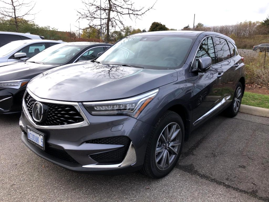 2021 acura vin number Exterior