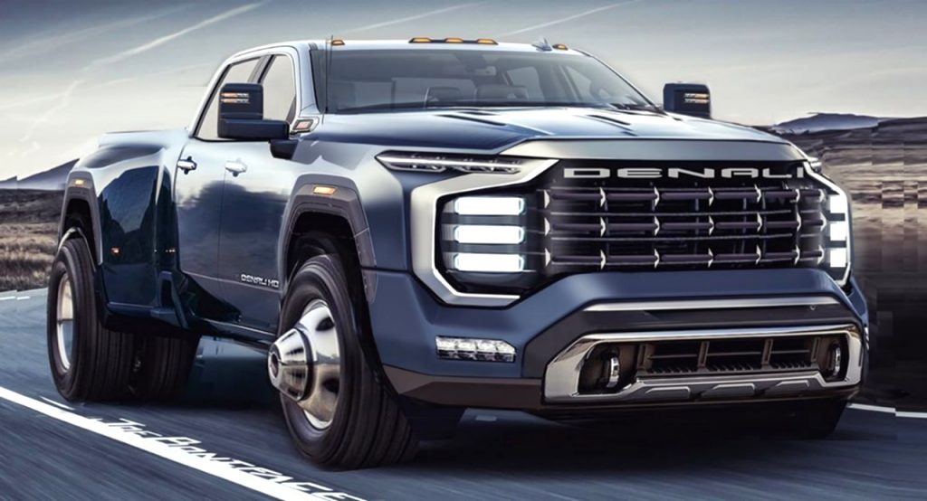 cadillac dually truck 2021 Spy Shoot