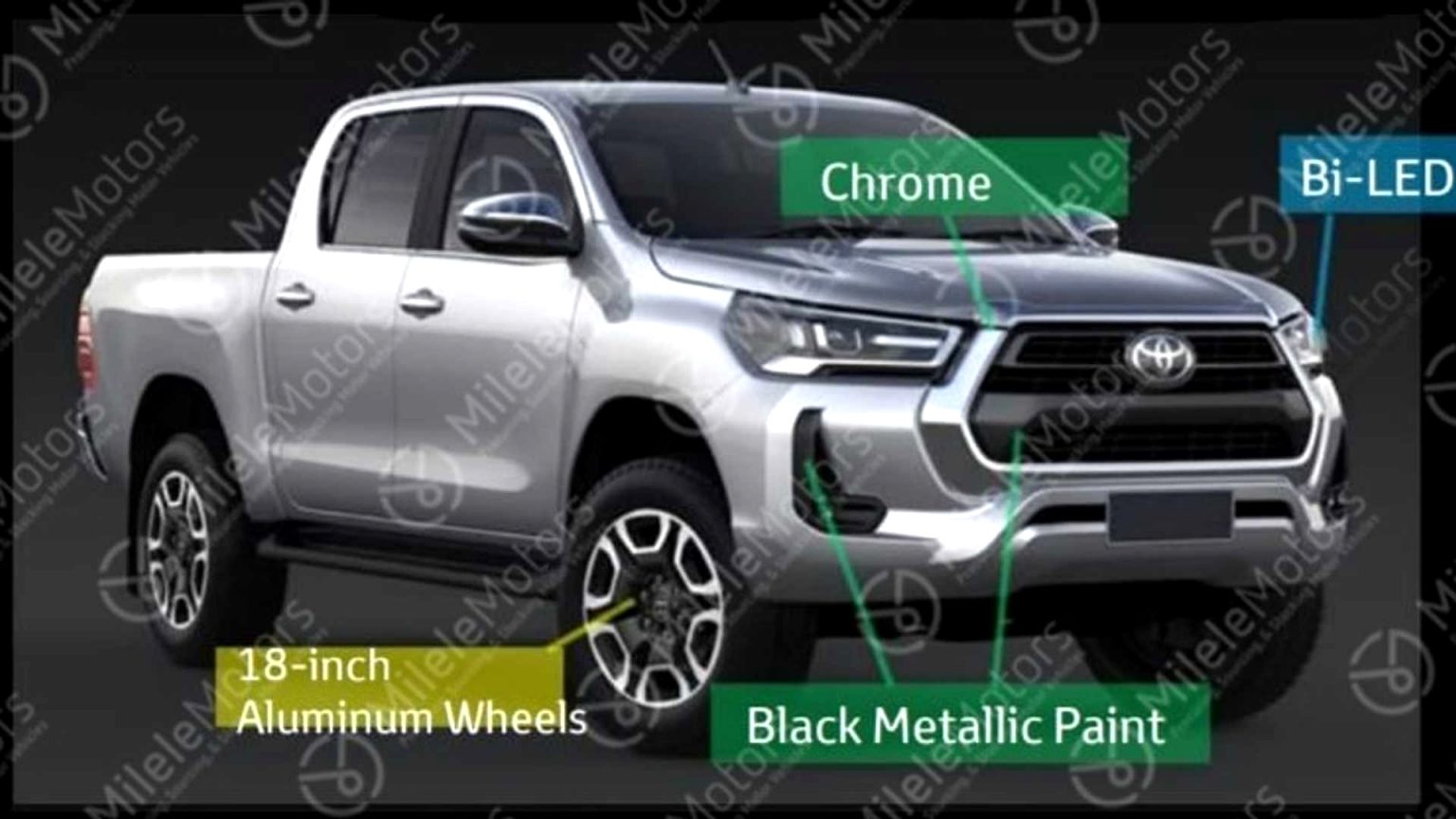 2021 toyota bakkie Performance and New Engine