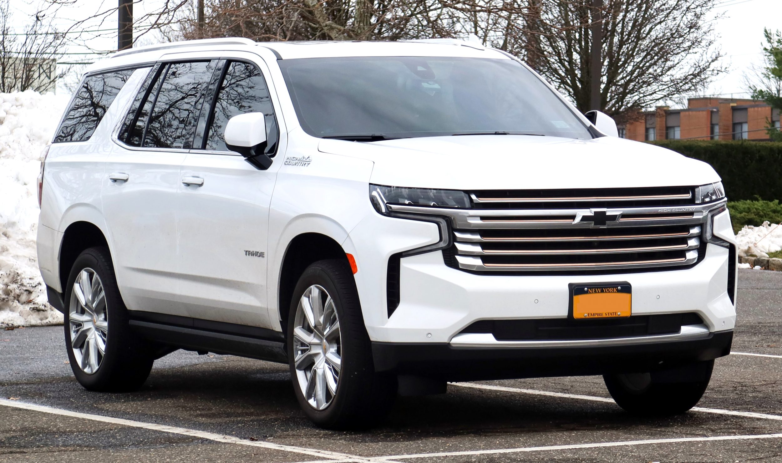 2021 chevrolet tahoe Overview