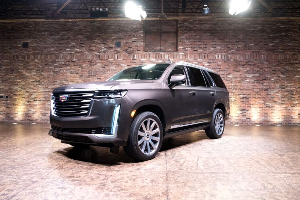 how much is a 2021 cadillac SUV Style