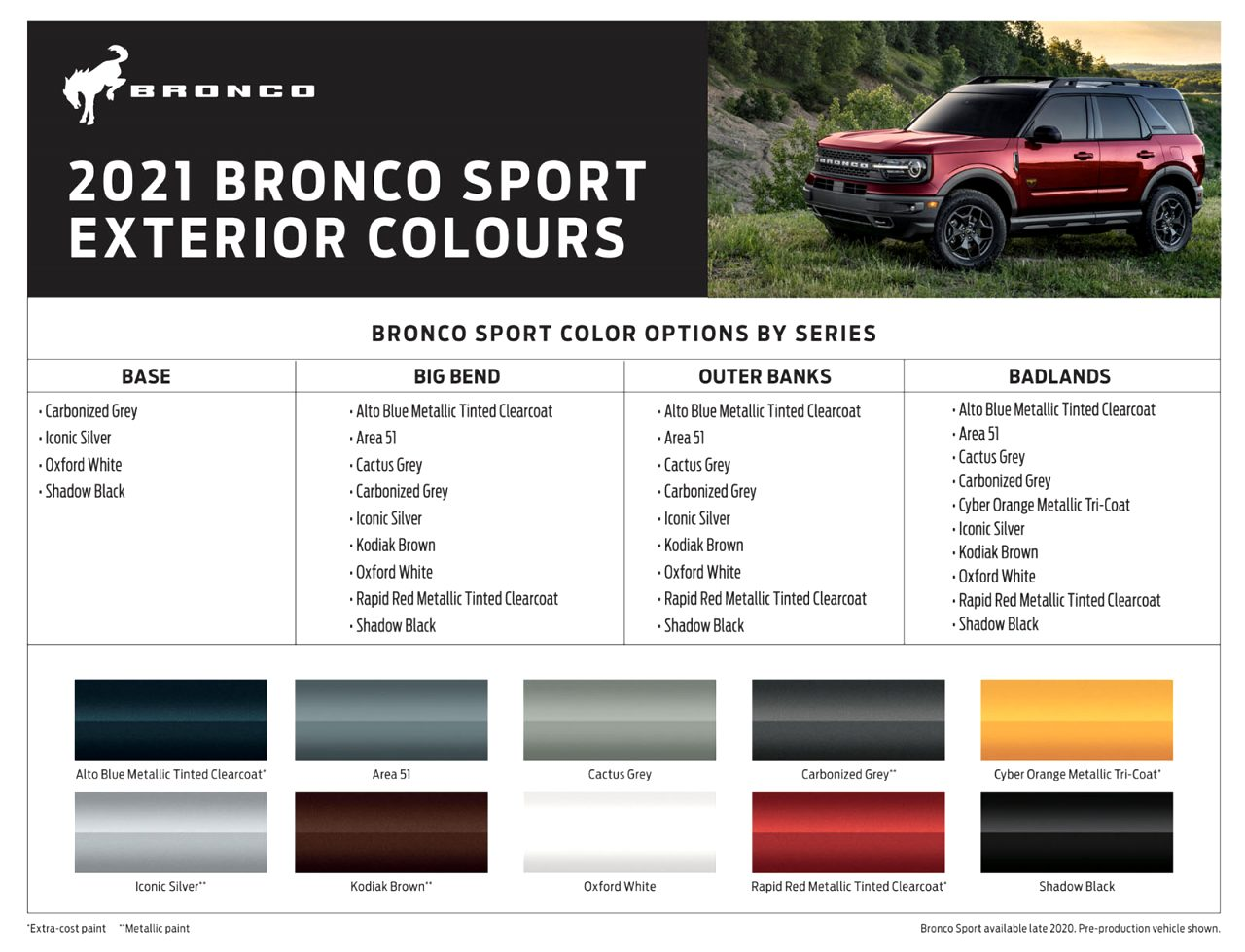 2021 ford interior colors Price and Release date